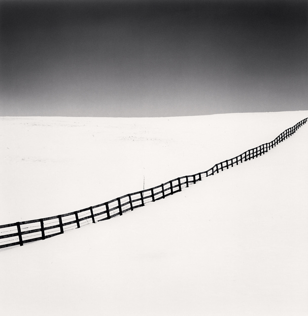 Michael Kenna, 'Running Fence, Biei, Hokkaido, Japan', 2007 (printed 2019), Peter Fetterman Gallery
