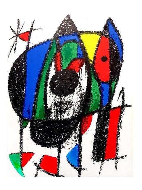 Joan Miró, 'Joan Miró - Original Abstract Lithograph', 1975, Galerie Philia