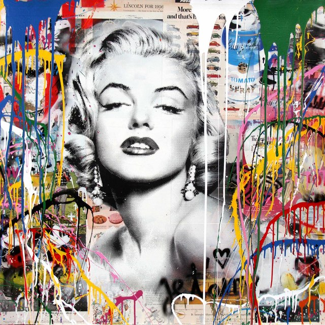 , 'Marilyn Monroe,' 2017, Contessa Gallery