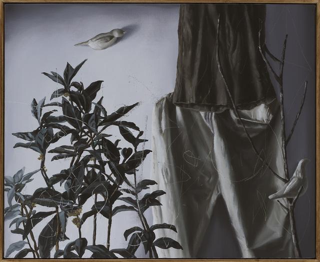 Shih Yung Chun, 'Bed Time Story.D3- White Bird on the Tree', 2017, Yiri Arts