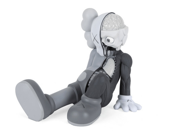 KAWS, 'Resting Place (Gray)', 2013, Dope! Gallery