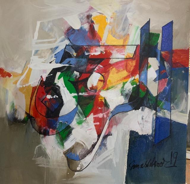 Mashkoor Raza, 'Al Rehman ', 2019, Painting, Oil on canvas, Eye For Art Houston