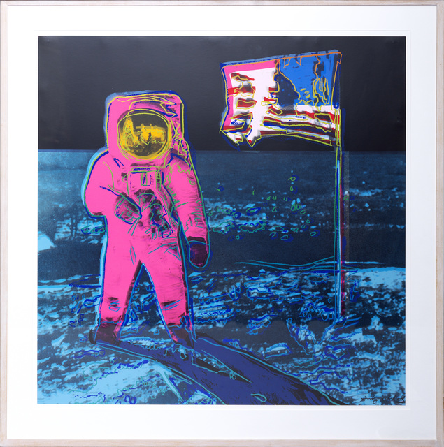 Andy Warhol, 'Moonwalk', 1987, Print, Screenprint in colours., Sims Reed Gallery