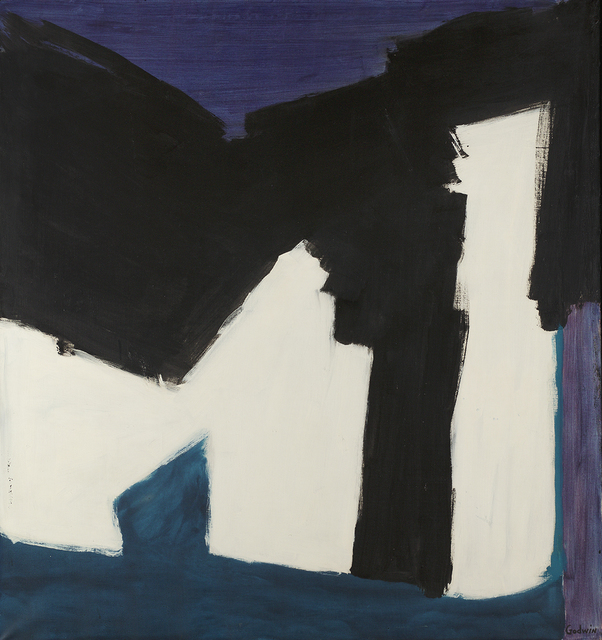 , 'Black Support,' 1960, Berry Campbell Gallery