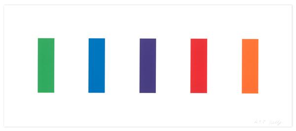 Ellsworth Kelly, 'Color Panels', 2011, Gemini G.E.L. at Joni Moisant Weyl