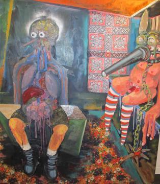 Stefanie Gutheil, 'Schandmaske', 2008, Tillou Fine Art