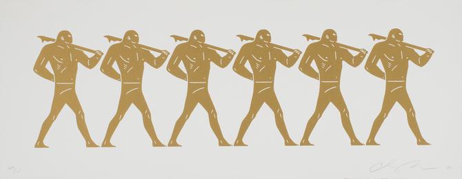 The Marchers (White)