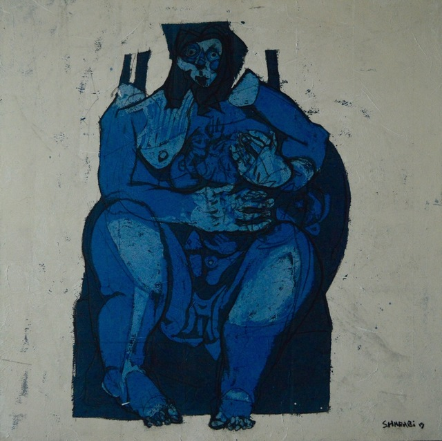Alaa Sharabi, 'Blue Mother', 2019, Fann- A- Porter