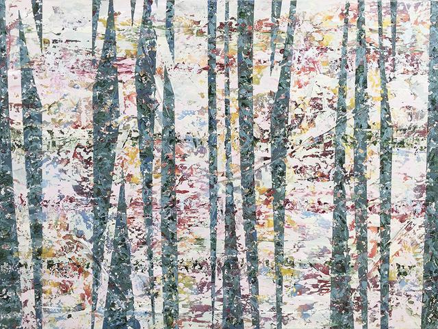 David Skillicorn, 'Nel Bosco 1-9', 2019, Painting, Mixed media on canvas, Amy Simon Fine Art