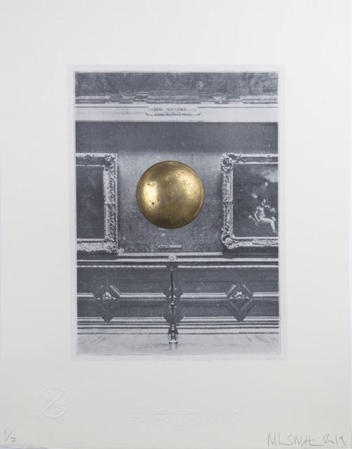 Nick Smith, 'Louvre Wall with Door Knob (Mona Lisa)', 2019, Rhodes