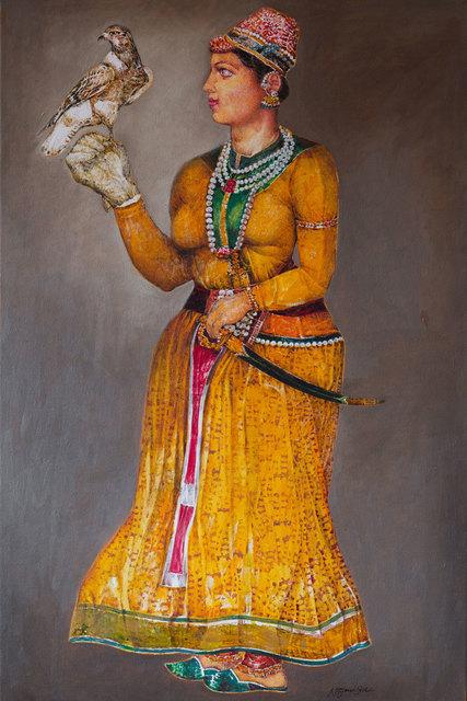 , 'Maharani Tahsi,' 2016, Albemarle Gallery   Pontone Gallery