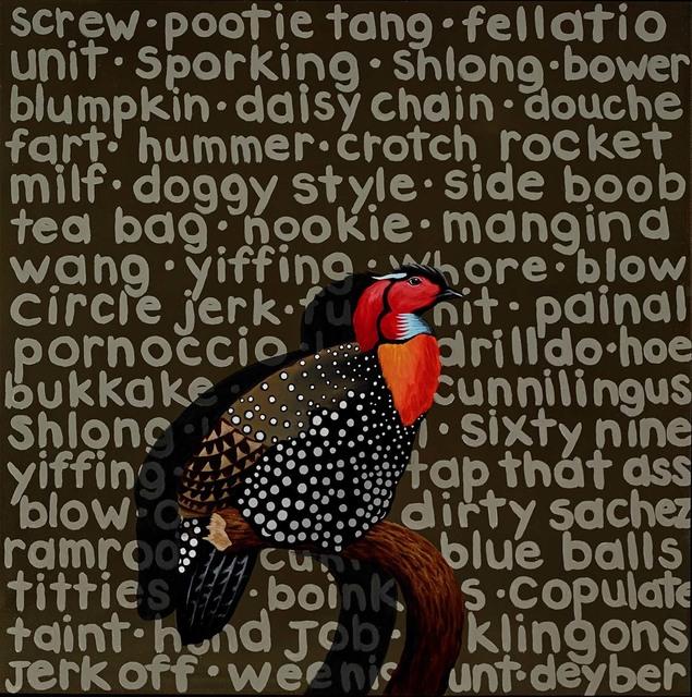 , 'Fowl Language IV,' 2017, Martin Lawrence Galleries
