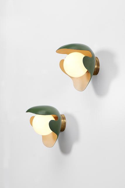 , 'Pair of wall lamps,' ca. 1940, Dansk Møbelkunst Gallery