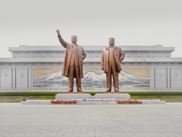, 'Statues of the Leaders (Mansu Hill, Pyongyang),' 2014, The Ravestijn Gallery
