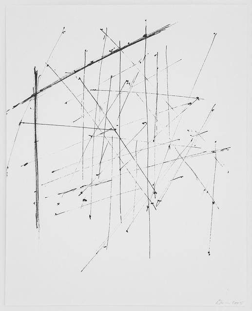 , 'Zeichnungsplan 34,' 2005, Maddox Arts