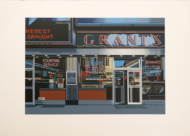 , 'Grants, from the Urban Landscapes I portfolio,' 1972, Richard Levy Gallery