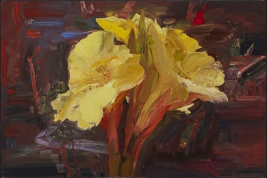 John Hartman, 'Yellow Lily in Denman's Garden,' 2002, Waddington's: Concrete Contemporary