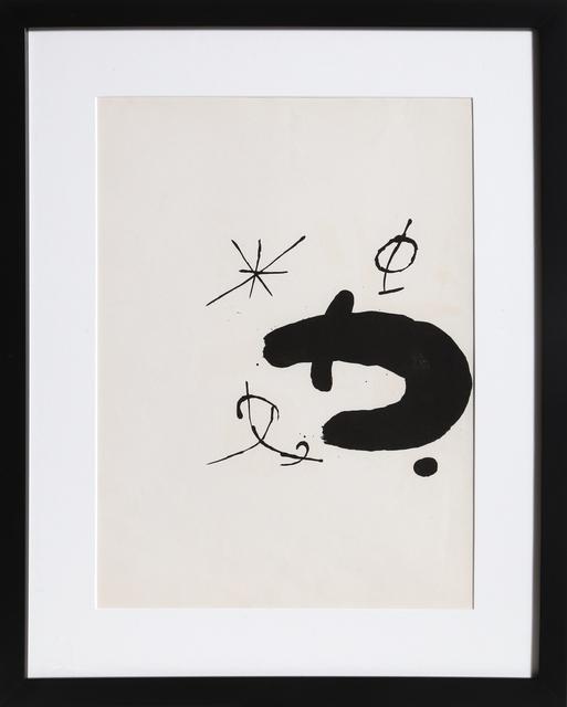 Joan Miró, 'Les Essencies de la Tierra 13', 1968, RoGallery
