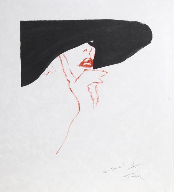 René Gruau, 'Esquisse De Brigit', ca. 1990, Print, Lithograph, RoGallery