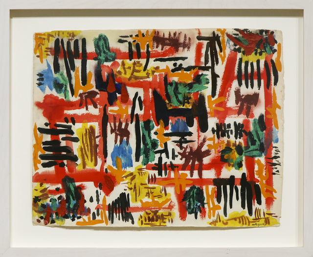 , 'Exploding Notes,' 1950, David Richard Gallery