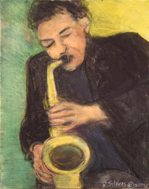 , 'The Horn Player,' 2018, Carter Burden Gallery
