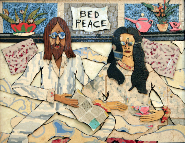 , 'John And Yoko: Bed Peace,' 2017, Court Tree Gallery