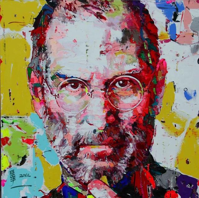 , 'Steve Jobs - 你是我的想象10,' 2012, Ode to Art