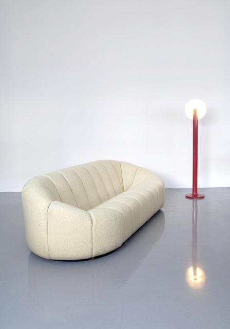 , 'Elysée couch & Lampadaire,' Couch: 1972-lamp: 1965, Jousse Entreprise