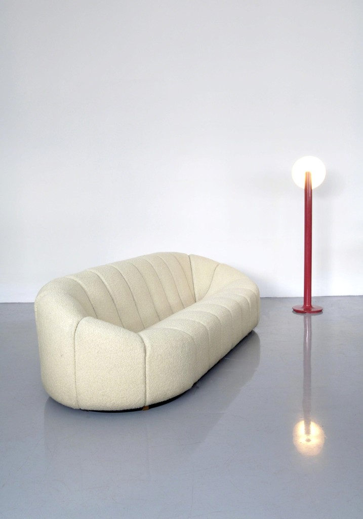 Pierre Paulin, U0027Elysée Couch U0026 Lampadaireu0027, Couch: 1972 Lamp: Great Pictures