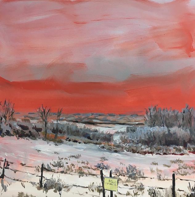 Rebecca Perehudoff, 'Red Sky ', 2017, Art Upclose