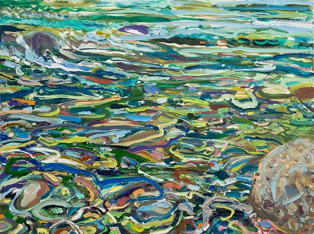 Lilian Garcia-Roig, 'Cumulative Nature: Color Rush', 2019, Painting, Oil on canvas, Valley House Gallery & Sculpture Garden