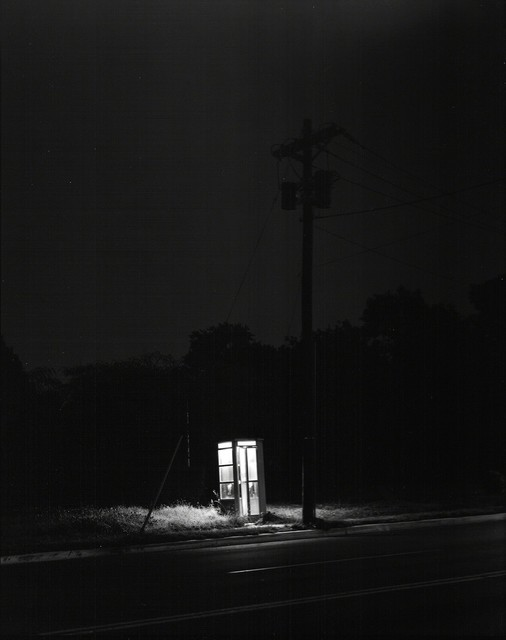George Tice, 'Telephone Booth, 3am, Rahway, New Jersey', 1971, Huxley-Parlour