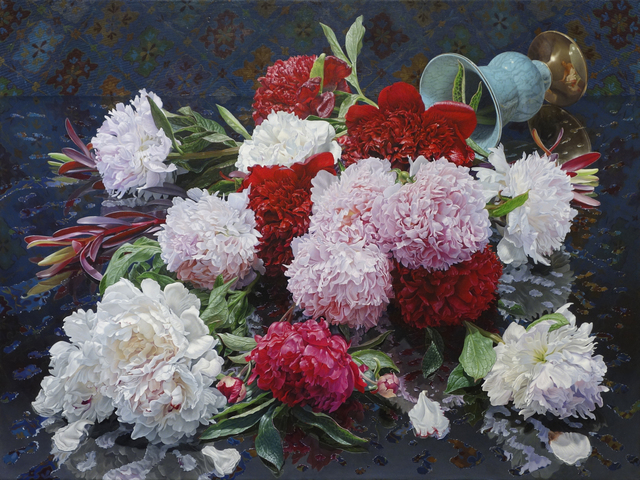 , 'Peonies Midnight,' 2016, Gallery Henoch