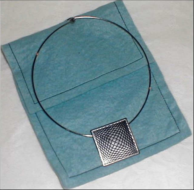 , 'Lt. Edition Op Art Pendant Necklace for Hirshhorn Museum and Sculpture Garden ,' ca. 1976, Alpha 137 Gallery