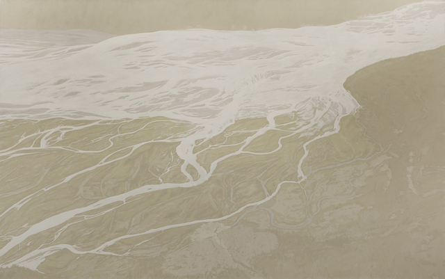 , 'Kaskawulsh II 60°41'N; 137°53'W,' 2014, Galerie Laroche/Joncas