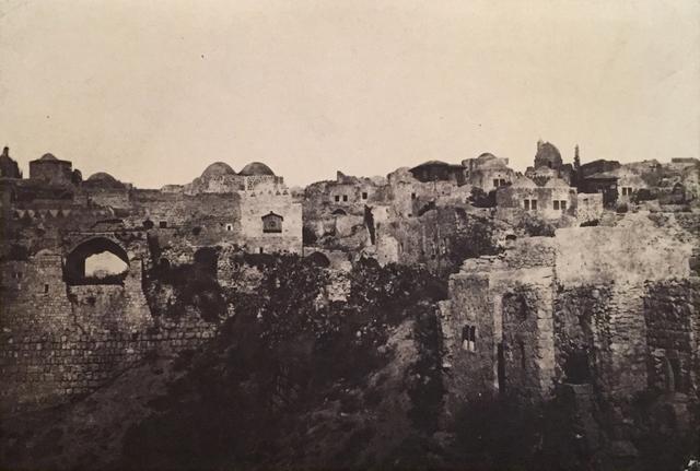 , 'Palestine: Jeruselum, Quartiere Orientale,' Neg. date: 1851 c. / Print date: 1851 c., Alan Klotz Gallery