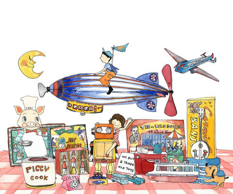 Yukie Yasui, 'Antique Toy Shop', ArtStar