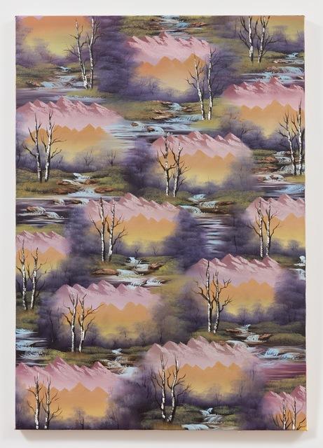 , 'Purple Valley,' 2018, Anat Ebgi