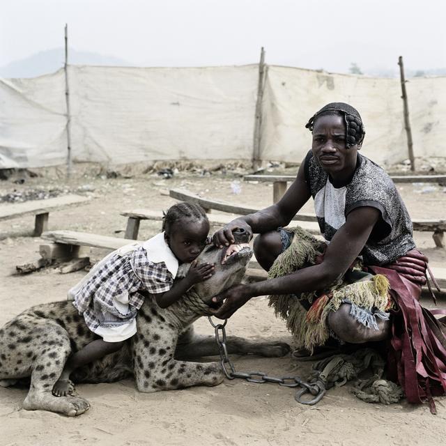 Pieter Hugo, 'Mummy Ahmadu and Mallam Mantari Lamal with Mainasara, Abuja, Nigeria', 2005, Stevenson