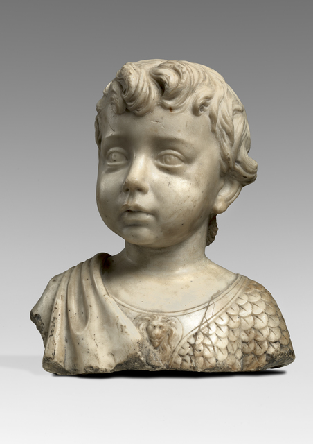 , 'Bust of a Boy,' Late 15th Century, Benjamin Proust Fine Art Limited