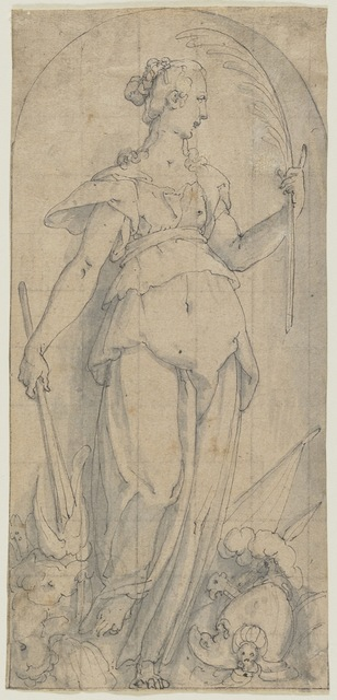 , 'Allegory of Peace ,' 1573-1780, Bowdoin College Museum of Art