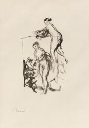 Femme au Cep de Vigne, 3eme variante (from L'Album des Douze Lithographies Originales)