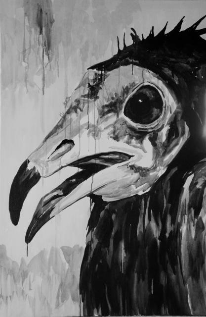 Klaus Verscheure, 'Smiling Face Vulture #3 Pottes #71', 2018, Harlan Levey Projects