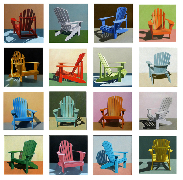 , 'Summer Chairs,' , Clark Gallery
