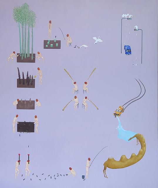 Akira Ikezoe, 'Coconut Heads and Bamboos', 2019, Proyectos Ultravioleta