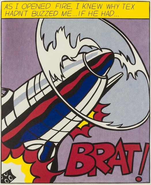 Roy Lichtenstein, 'As I opened Fire (Corlett App.5)', 1966, Forum Auctions