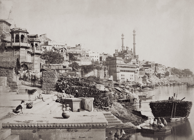 , 'The Burning Ghat,' 1865-1866, Getty Images Gallery