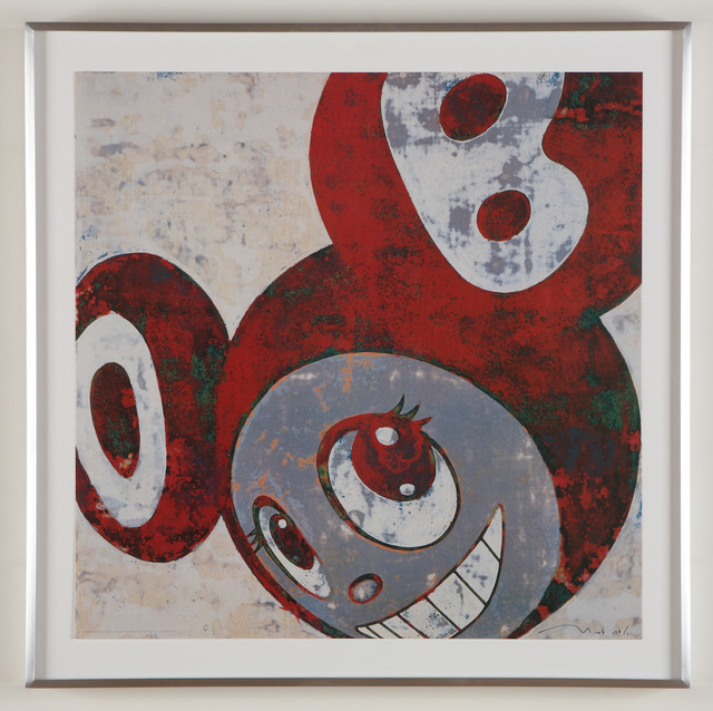 Takashi Murakami, 'And Then And Then Rust Red', 2006, MSP Modern