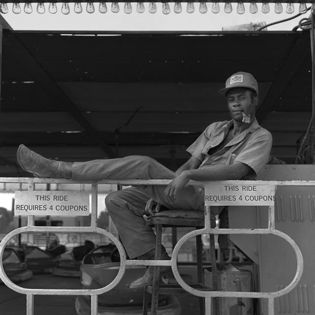 , 'Wade Carnival Shows: Bumper Car Ride Attendant ,' 1980-1983, David Klein Gallery