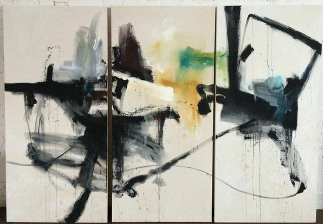 , 'Keep Right (Triptych),' 2015, Artemisa Gallery